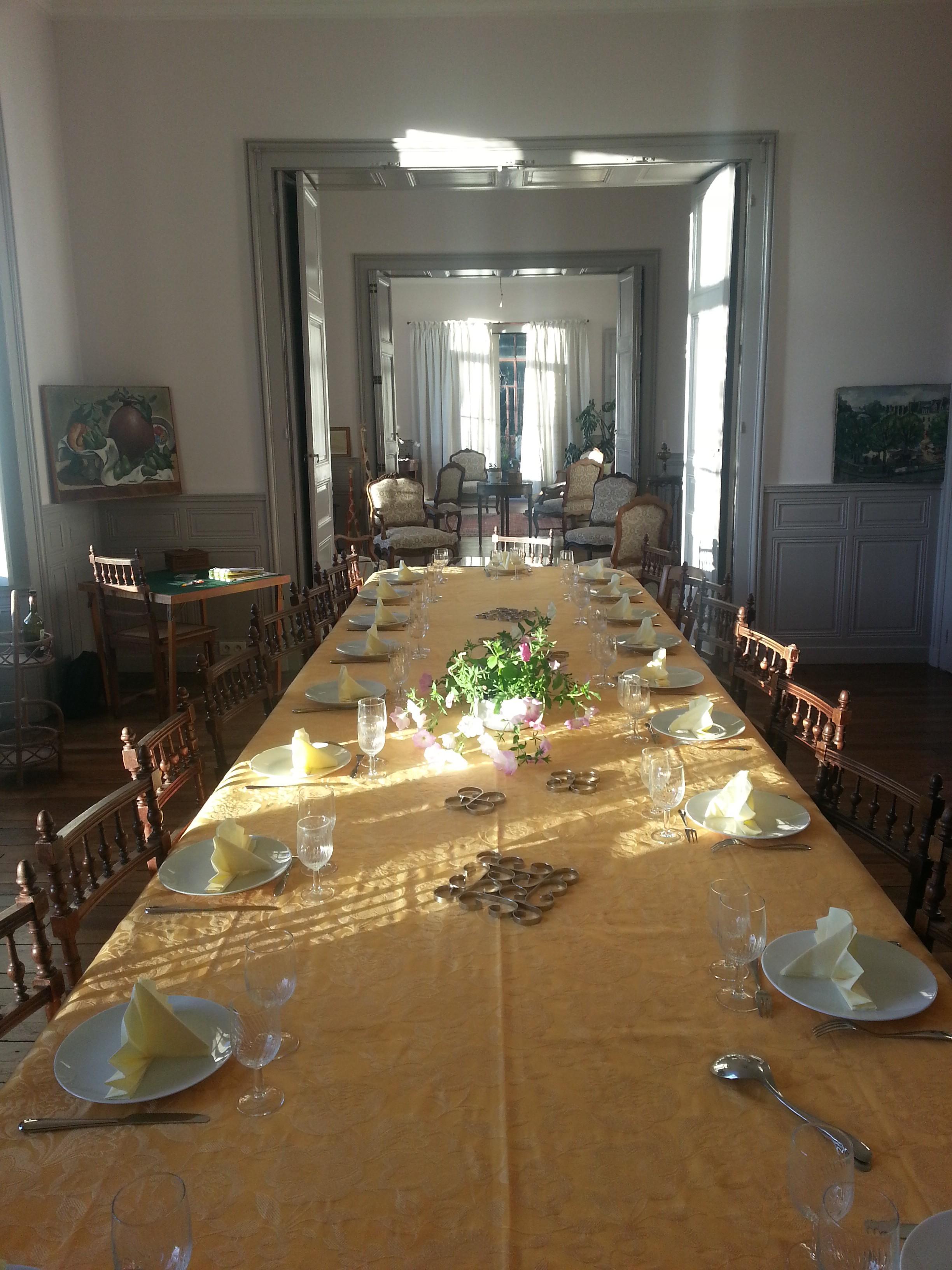 La salle-à-manger du Château